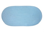 "Mystic 15"" x 15"" Chair Pad in Light Blue"