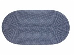 "Mystic 15"" x 15"" Chair Pad in Navy"
