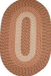 "Plymouth 30"" x 50"" Braided Rug in Straw"