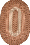 Plymouth 5' x 5' ROUND Braided Rug in Straw