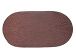 "Mystic 15"" x 15"" Chair Pad in Brown"