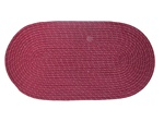 "Mystic 15"" x 15"" Chair Pad in Wine"