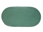 "Mystic 27"" x 48"" Braided Rug in Spruce"