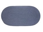 "Mystic 27"" x 48"" Braided Rug in Navy"