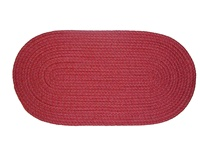 "Mystic 27"" x 48"" Braided Rug in Barn Red"
